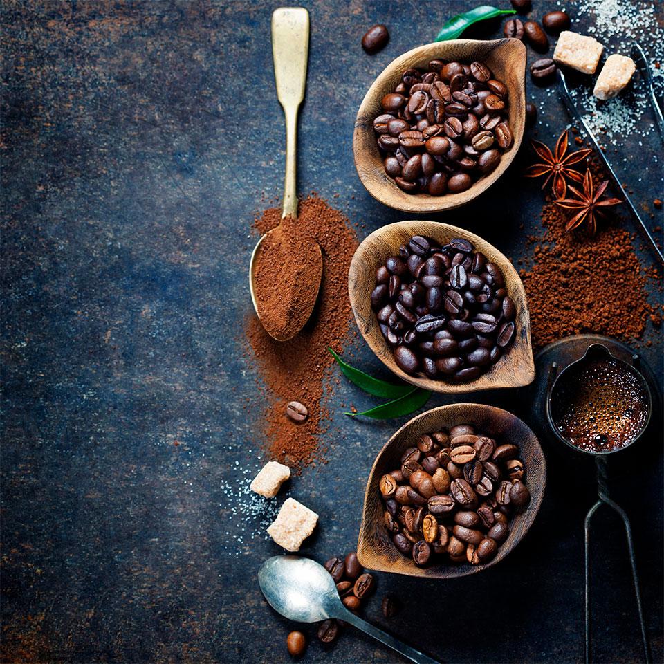 Website für Gusto Kaffee