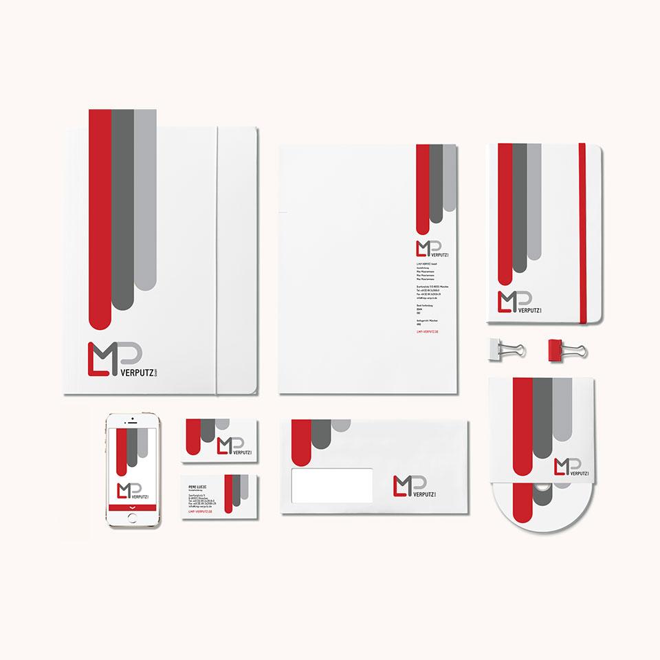 Corporate Design for LMP Verputz